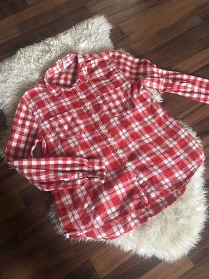 FB Sister Lumberjack Shirt white-red