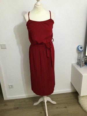 Rot Kleid midi tragerkleid neu