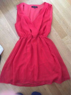 Rot/Lachsfarbenes Sommerkleid