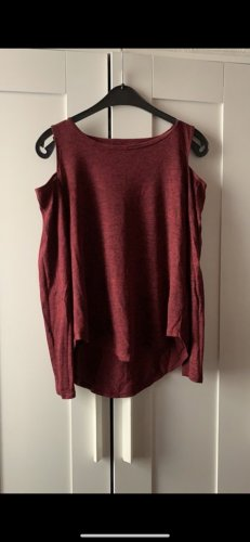 Rot meliertes Hollister Shirt