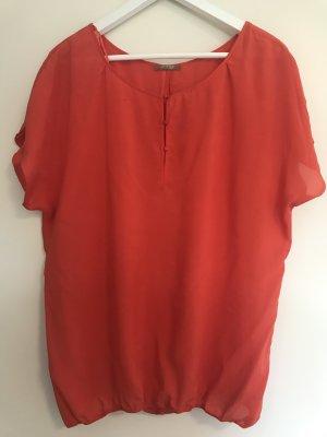 Rot orangene Bluse