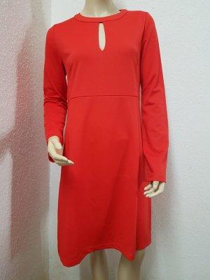 rot/ orangenes Kleid von rick cardona NEU Gr. 38