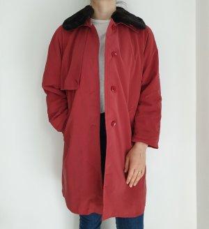 Vintage Veste oversize rouge