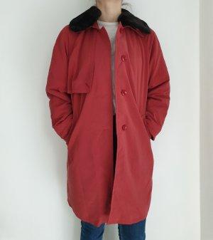 Vintage Oversized Jacket brown-red