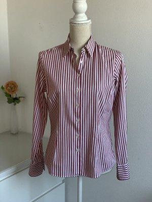 Rot weiß gestreifte Hemd Bluse von Tommy Hilfiger Gr. 38