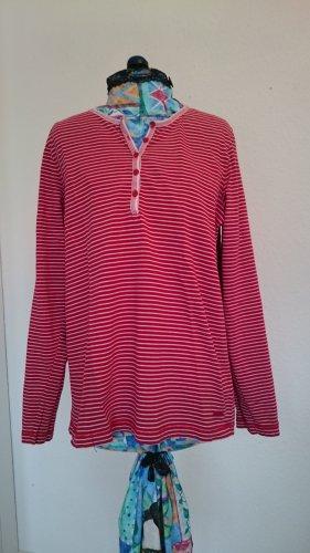 Stripe Shirt white-red cotton