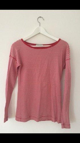 Rot-weiß gestreiftes Shirt von René Lezard