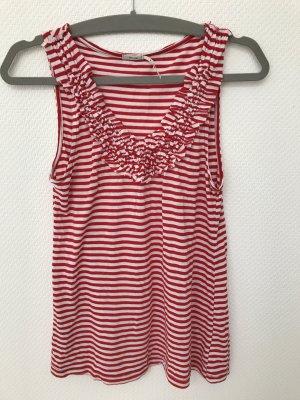 Rot-weiß gestreiftes Sommertop Urban Outfitters
