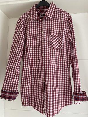 Rot/Weiß kariertes Hemd