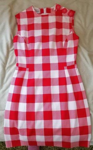 Tristano Onofri Pencil Dress white-red