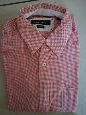 Rot/weiß kariertes Marc O'Polo Herrenhemd