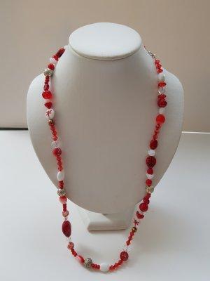 rot-weisse Halskette