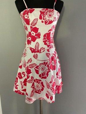 Bodyflirt Midi-jurk wit-rood
