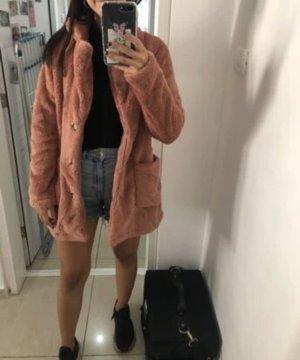 Oversized jas veelkleurig