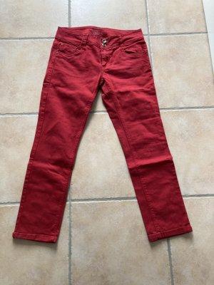 Rote 7/8-Jeans von Promod Größe 36
