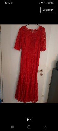 Rote Abendkleid