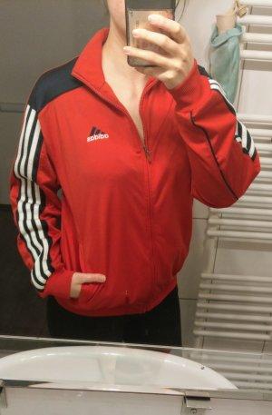 Rote Adidas Jacke