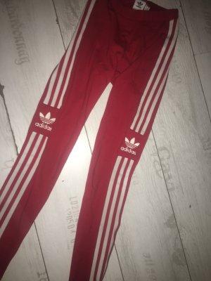 Adidas Leggings rojo-blanco