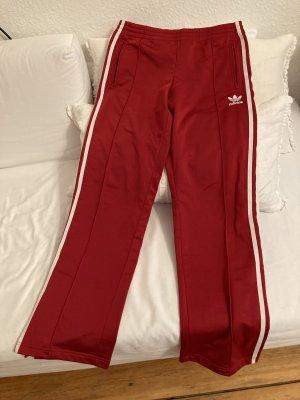 Adidas Originals Pantalon de sport rouge foncé