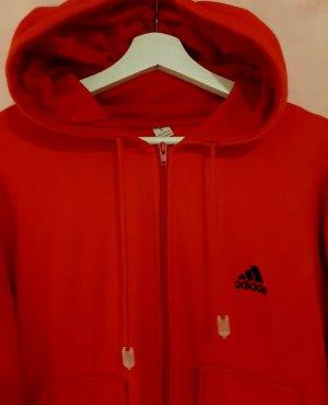 Rote Adidas Trainingsjacke