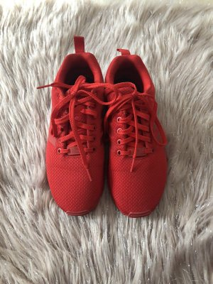 Adidas Sznurowane trampki czerwony