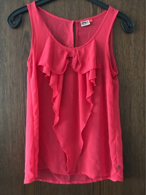 Only Sleeveless Blouse red