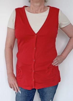 Zagora Sports Vests red cotton
