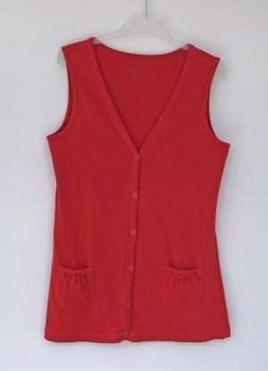 Zagora Chaleco deportivo rojo Algodón