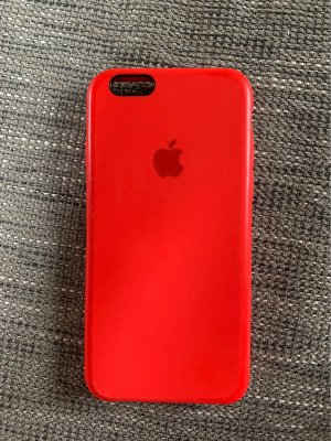 Rote Apple iPhone 6s Hülle