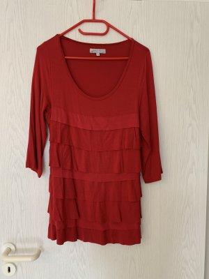 Authentic Clothing Company Bluzka z długim rękawem ciemnoczerwony