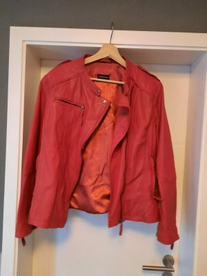 Avenue Foch Leather Jacket multicolored