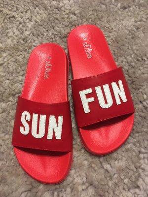 s. Oliver (QS designed) Sandalias de playa multicolor