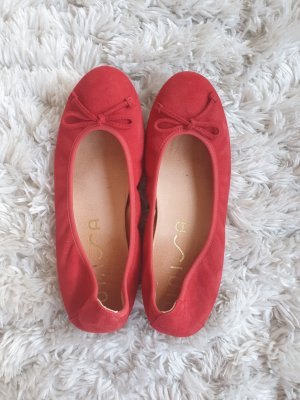 Unisa Foldable Ballet Flats red