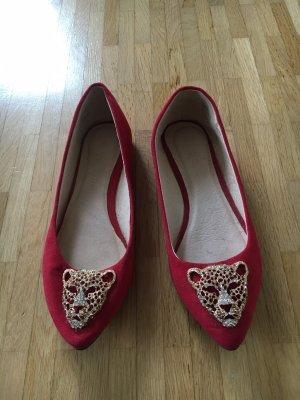 Rote Ballerinas von Aldo