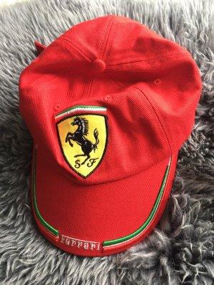 Ferrari Gorra de béisbol rojo