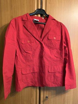 Bonita Tweed blazer rood
