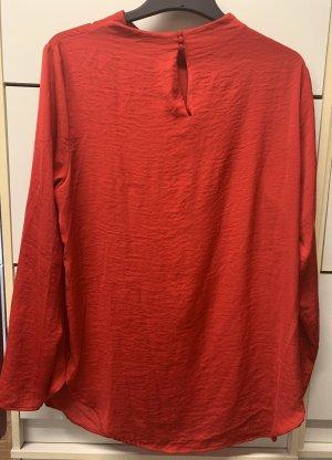H&M Blusa brillante rosso