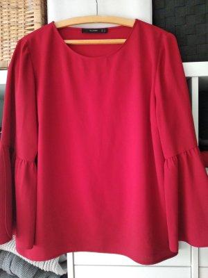 rote bluse hallhuber