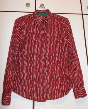 Rote Bluse von Benetton. Gr. 38
