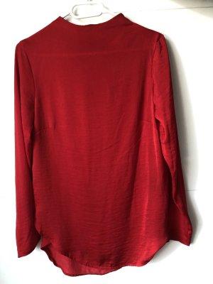 Rote Bluse von H&M
