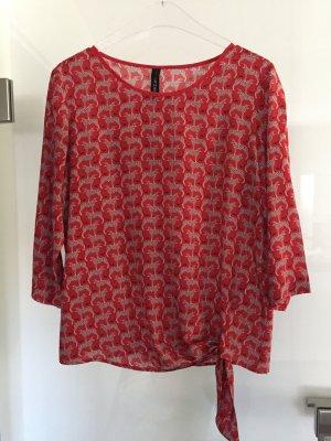 Rote Bluse von Marccain