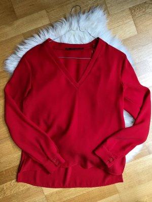 Rote Bluse von Zara