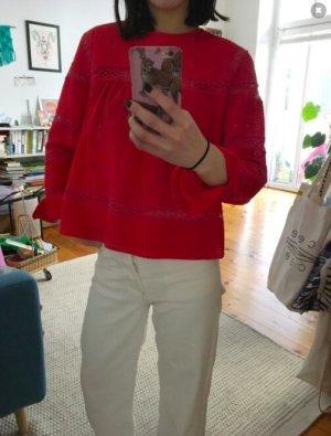 Isabel Marant Étoile Camicetta a maniche lunghe rosso