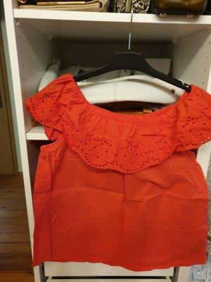 H&M Blouse Carmen rouge