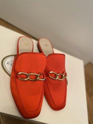 H&M Mocassins rood