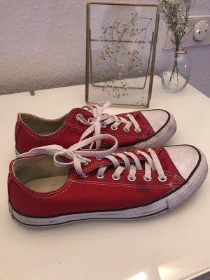 Converse Skaterschoenen rood