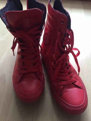 Converse Wellies red