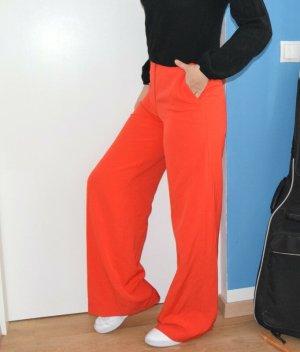 Jake*s Pantalone a vita alta rosso chiaro-rosso Tessuto misto