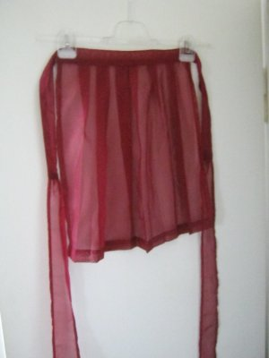 Traditional Apron red