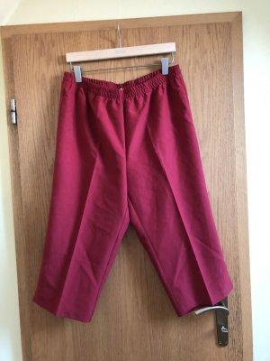 Pantalone a 3/4 rosso mattone